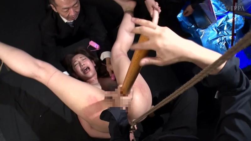 ダルマ緊縛肉便器 ドМな人妻を公開種付け 藍川美夏 9枚目