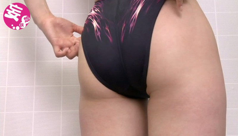 スイミングスクール通いで試着する競泳水着からハミ出る豊満な女体とデカ尻盗撮!3 サンプル画像  No.5