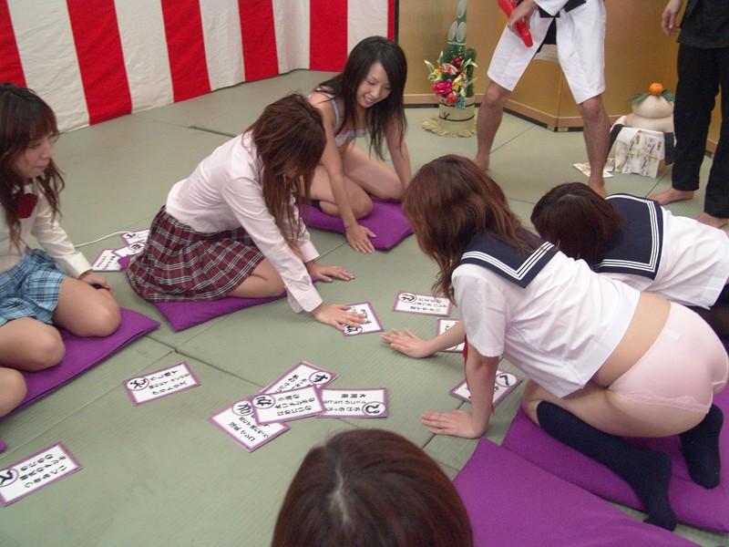女子校生限定!新春エロカルタ大会 ~ハメましておめでとうございます~ サンプル画像  No.4
