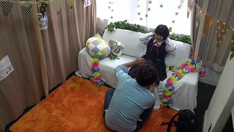 密かに噂が広まっている学校帰りのアルバイト素人制服撮影会の実態 押しに弱い女の子に直接交渉で過激なポーズを要求していき生ハメ中出しキメる サンプル画像  No.1