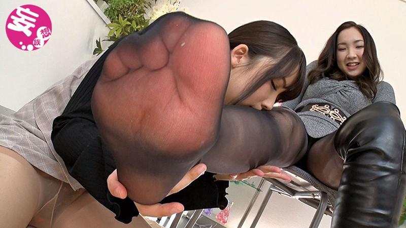 ロングブーツ蒸れ蒸れパンスト匂い嗅ぎ脚舐めレズ サンプル画像  No.8