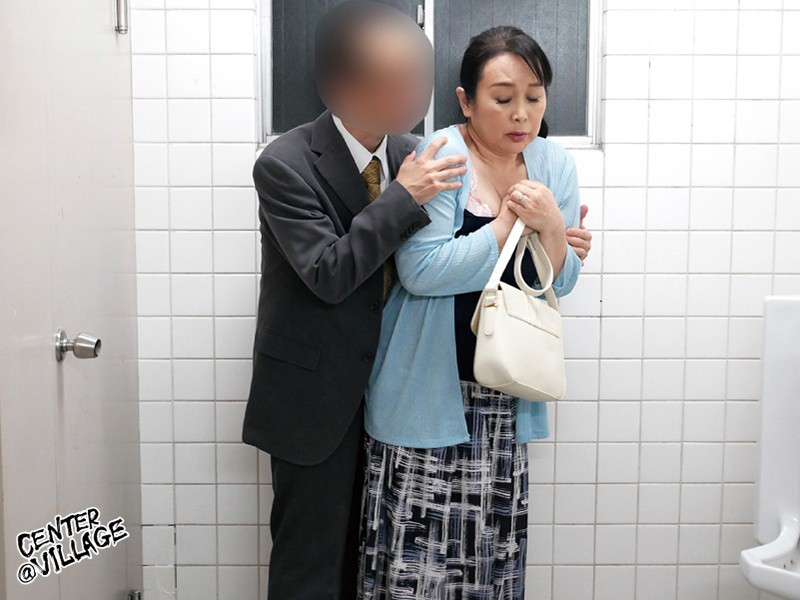 人妻痴漢電車~さわられた六十路母~ 高場典子 サンプル画像  No.4