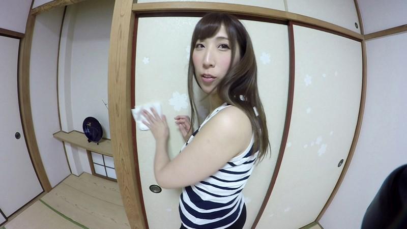 【VR】敏感妻と見つめ合いながら濃厚セックス 彩奈リナ サンプル画像 No.1