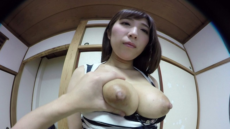 【VR】敏感妻と見つめ合いながら濃厚セックス 彩奈リナ サンプル画像 No.4