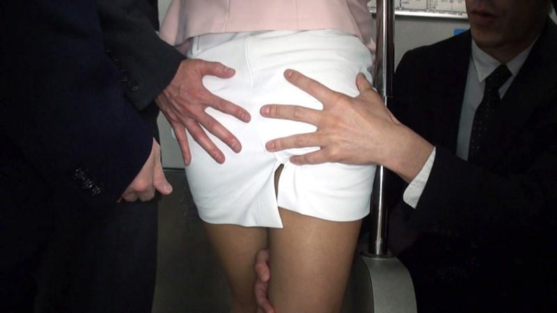 痴漢されたい女部長の妄想着衣痴漢 月~金まで毎日射精される部長のスカート 片瀬仁美 サンプル画像  No.8
