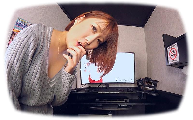 【VR】乱入!ハプニング個室ビデオ 泉ののか サンプル画像 No.1