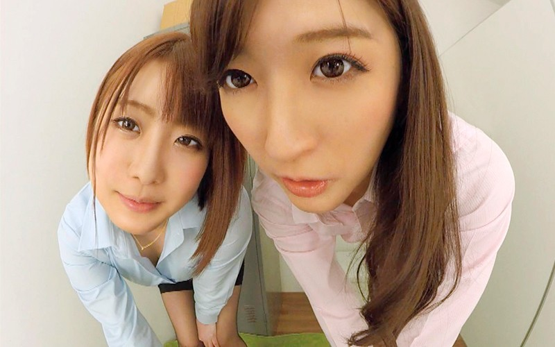【VR】働く女の性事情~後輩の新人チ○ポ歓迎会~ サンプル画像 No.2