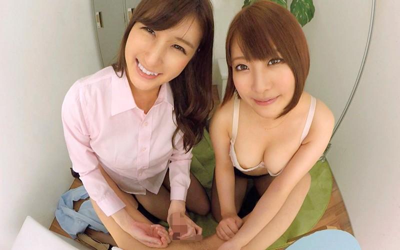 【VR】働く女の性事情~後輩の新人チ○ポ歓迎会~ サンプル画像 No.7