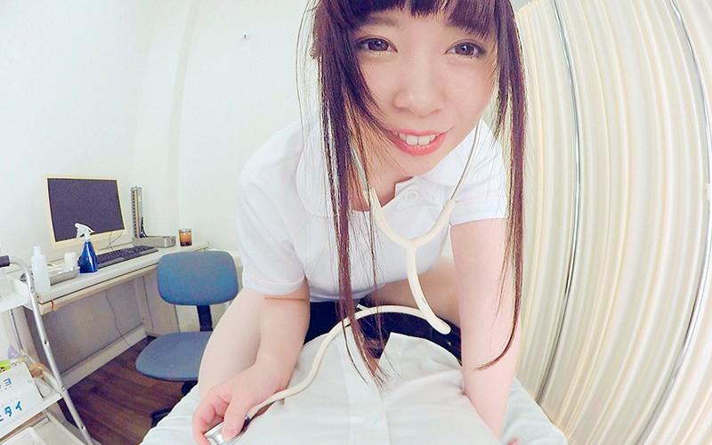 【VR】HQ高画質対応 ドクター不在をいいことに患者を誘惑診断する淫乱ナース 桜井和心 サンプル画像  No.5