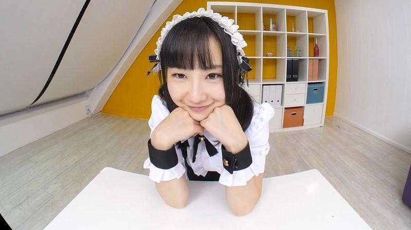 【VR】神坂ひなの かわいいメイドと中出しエッチ!ボクのことを好き過ぎるご奉仕メイドとのなんともうらやましい日常。 サンプル画像 No.1