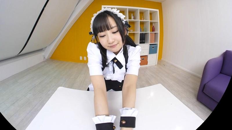 【VR】神坂ひなの かわいいメイドと中出しエッチ!ボクのことを好き過ぎるご奉仕メイドとのなんともうらやましい日常。 サンプル画像 No.3