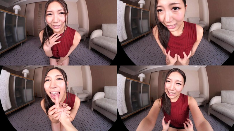 【VR】佐倉ねね キス好きなセフレと中出しエッチ!ボクの後輩は巨乳でムチムチ…エロエロなセックスフレンド サンプル画像 No.1