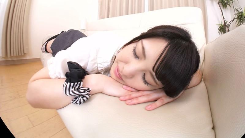 【VR】倉木しおり うたた寝カノジョにこっそりいたずら…その後とってもらぶらぶなセックスしちゃった サンプル画像  No.1