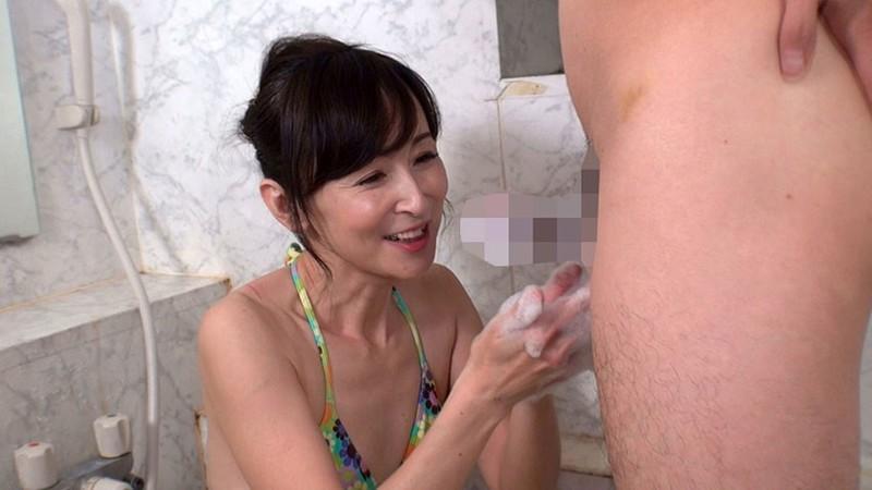 五十路熟女にチ●ポ洗ってもらっちゃいました!5 サンプル画像  No.8