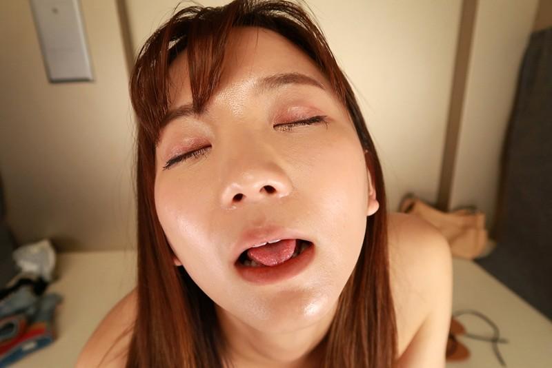【VR】汗だくムレムレ密室エレベーターの中で密着粘液まみれ生中SEX 鈴木真夕 サンプル画像  No.8