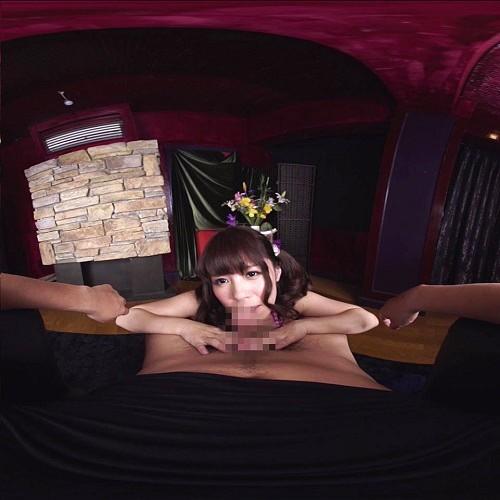 【VR】神対応◆スーパーアイドル!美巨乳ご奉仕フェラ かさいあみ サンプル画像 No.7