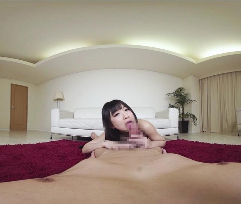 【VR】喉奥ディープスロートフェラ 大槻ひびき サンプル画像 No.2