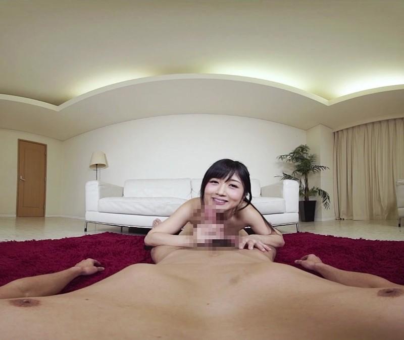 【VR】喉奥ディープスロートフェラ 大槻ひびき サンプル画像 No.7