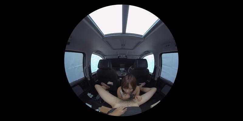 【VR】VR発情女子○生 クソ狭い車内でイヤラシイ身体を貪り合い肉食系カーセックスしまくりました 素人女子○生01ひなた サンプル画像 No.2