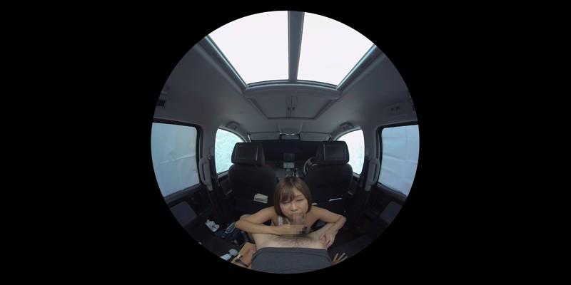 【VR】VR発情女子○生 クソ狭い車内でイヤラシイ身体を貪り合い肉食系カーセックスしまくりました 素人女子○生01ひなた サンプル画像 No.6
