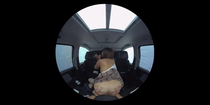 【VR】VR発情女子○生 クソ狭い車内でイヤラシイ身体を貪り合い肉食系カーセックスしまくりました 素人女子○生01ひなた サンプル画像 No.8