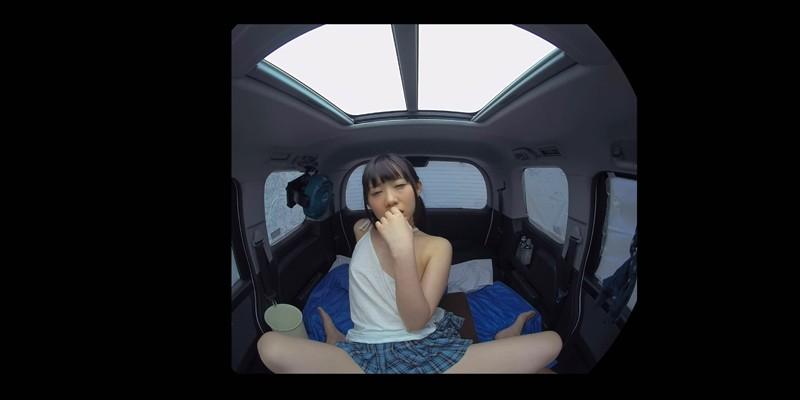 【VR】VR発情女子○生 クソ狭い車内でイヤラシイ身体を貪り合い肉食系カーセックスしまくりました 素人女子○生02恋 サンプル画像  No.2