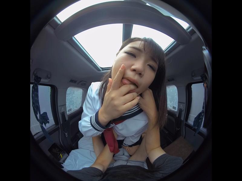 【VR】VR真夏の炎天下の狭い車内で汗だくになって肉食系カーセックスしまくりました 持田栞里 サンプル画像 No.2