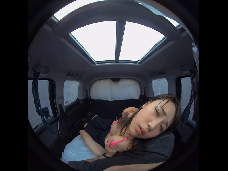 【VR】VR真夏の炎天下の狭い車内で汗だくになって肉食系カーセックスしまくりました 持田栞里 サンプル画像 No.3