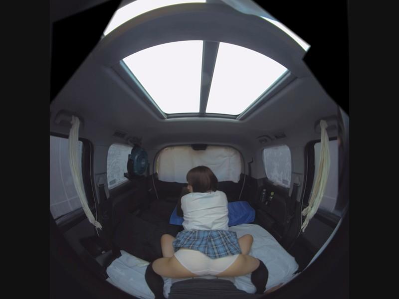 【VR】VR これからこのカワイイ娘をクソ狭い車内へ連れ込みこっそり好きなだけ抱きまくります 篠宮ゆり サンプル画像 No.4