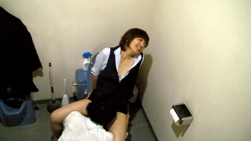 雑居ビル定点観測盗撮 複合ビル内の淫劇 オフィス・個人病院・共同トイレ サンプル画像  No.6
