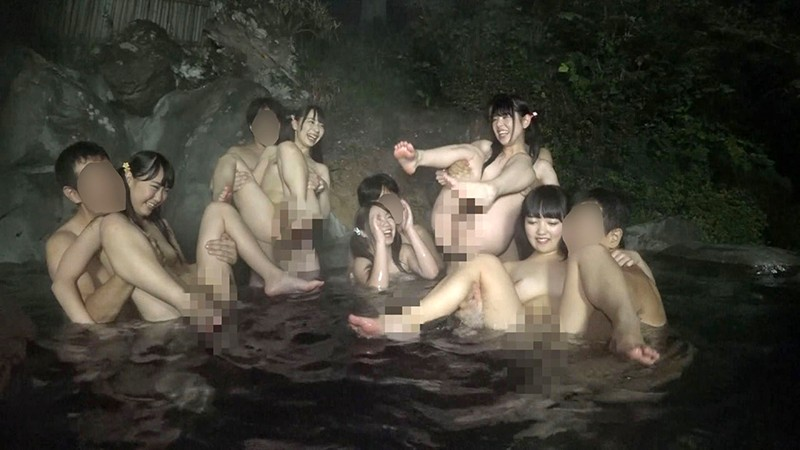 ほっこりモッコリ温泉美少女20人8時間 サンプル画像  No.3