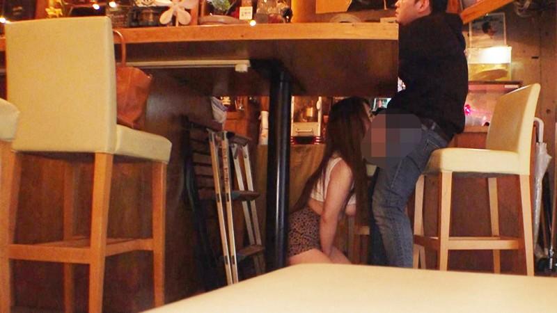 [公共の場/露出]自らAV志願してきたドM爆乳Hカップちゃんを営業中の飲食店連れまわし羞恥責めにしたらどエロいことになってしまった件。 サンプル画像  No.6