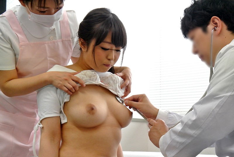 乳がん子宮がん検診にきた巨乳若妻を触診と称して乳揉み放題&生ハメし放題なレディスクリニックがあるという噂は本当か? 6枚目