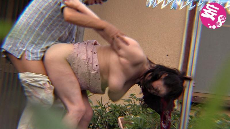 熟女の背後から突然乳揉み、乳首責めレ○プ サンプル画像  No.6