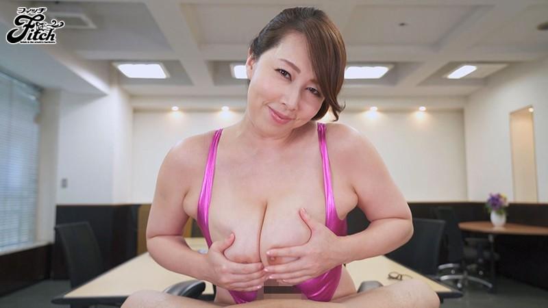 おっぱいで犯されたい無能な僕 超優秀なデカ乳女上司の逆セクハラ乳搾りプレス 風間ゆみ サンプル画像  No.4
