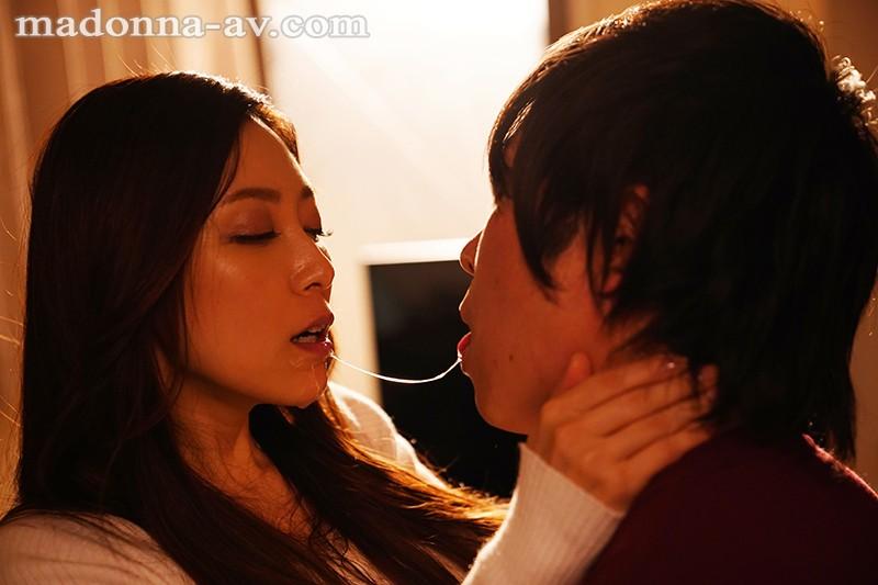 唾液の糸が絡みあう大人の接吻性交 白木優子 サンプル画像  No.3