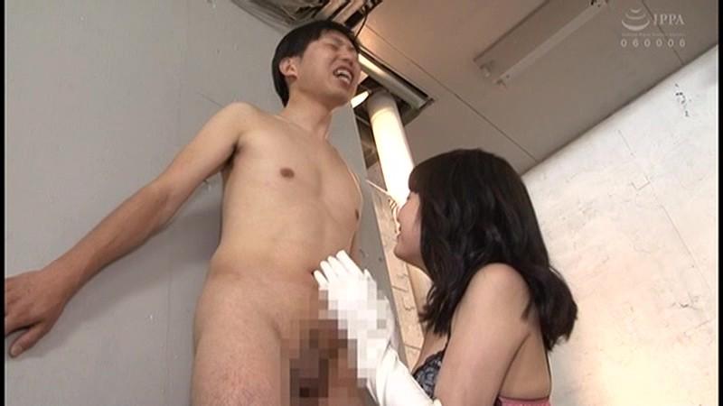 グローブフェチ 手コキ男犯 サテン・レザー・エナメル・ラバー サンプル画像  No.2
