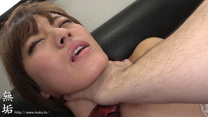 首絞め大好き! ショートカットの変態ドマゾ美少女。妊娠OK中出し懇願。ひきしまったウエストで大量精子を絞り取る サンプル画像  No.1