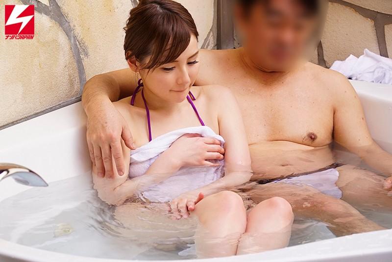 ナンパJAPAN人気シリーズ 素人混浴モニタリングベスト!! 男上司&女部下!人妻&童貞!異性の友達同士!二人きりで初めての混浴体験で理性が崩壊してSEXしちゃった8時間 サンプル画像 No.1