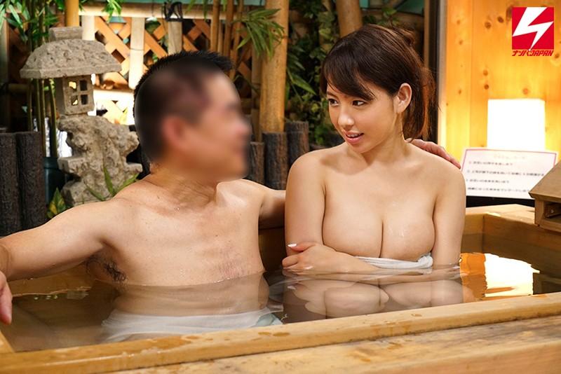 ナンパJAPAN人気シリーズ 素人混浴モニタリングベスト!! 男上司&女部下!人妻&童貞!異性の友達同士!二人きりで初めての混浴体験で理性が崩壊してSEXしちゃった8時間 サンプル画像 No.8