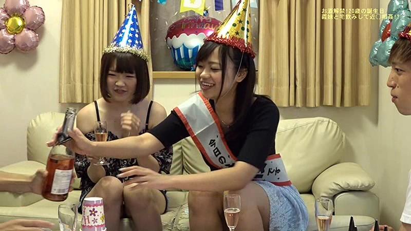 Eカップに成長した義妹の20歳の誕生日に宅飲みで酔わせてヤッちゃった サンプル画像  No.1