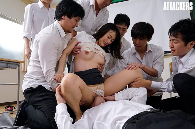 輪姦学校 西野翔 サンプル画像  No.8
