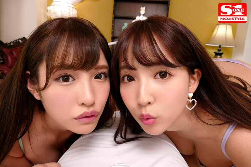 【VR】エスワン15周年スペシャル共演 日本一のAV女優2人と超豪華ハーレム逆3P体験 サンプル画像  No.3