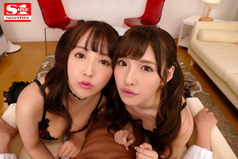 【VR】エスワン15周年スペシャル共演 日本一のAV女優2人と超豪華ハーレム逆3P体験 サンプル画像  No.7