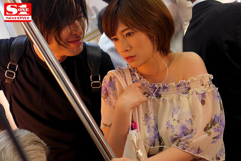 週5日間通勤電車で執拗な乳揉み痴漢に堕ちたマゾ巨乳人妻 奥田咲 サンプル画像  No.2