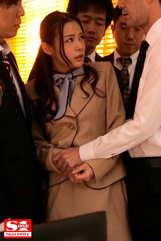 嫉妬された女秘書 ~社内の性玩具へと堕ちたキャリアウーマン~ 吉高寧々 サンプル画像  No.1