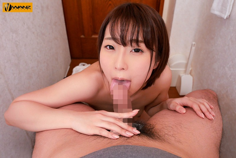 【VR】【密室SEX体験VR】ウチのトイレに八乃つばさがやって来た!【トイレ視聴推奨】 サンプル画像 No.5