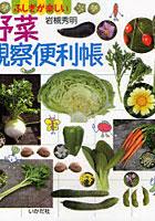 野菜観察便利帳 ふしぎが楽しい