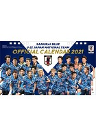 卓上 サッカー日本代表カレンダー 2021年カレンダー