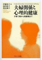 伊藤裕子出演:夫婦関係と心理的健康